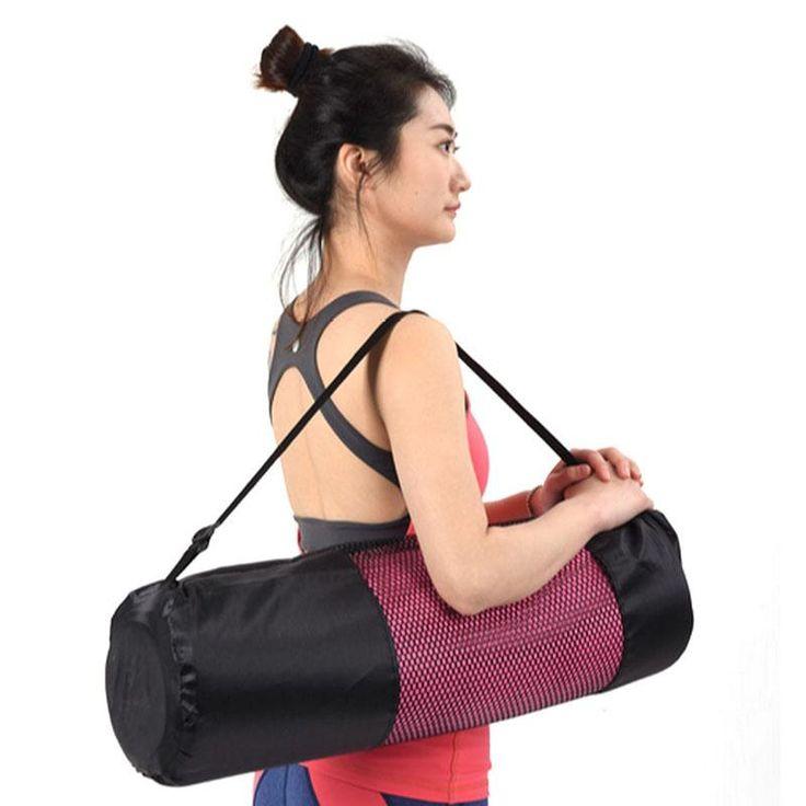 Adjustable Strap Nylon Mat Bag Carrier Mesh