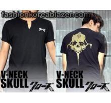 V Neck Genji Skull IDR : Rp 95.000 Kode Produk : v-neck Skull