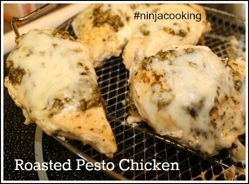 Roasted Pesto Chicken and Rice #ninjacooking plus Giveaway | LookWhatMomFound...and Dad too!