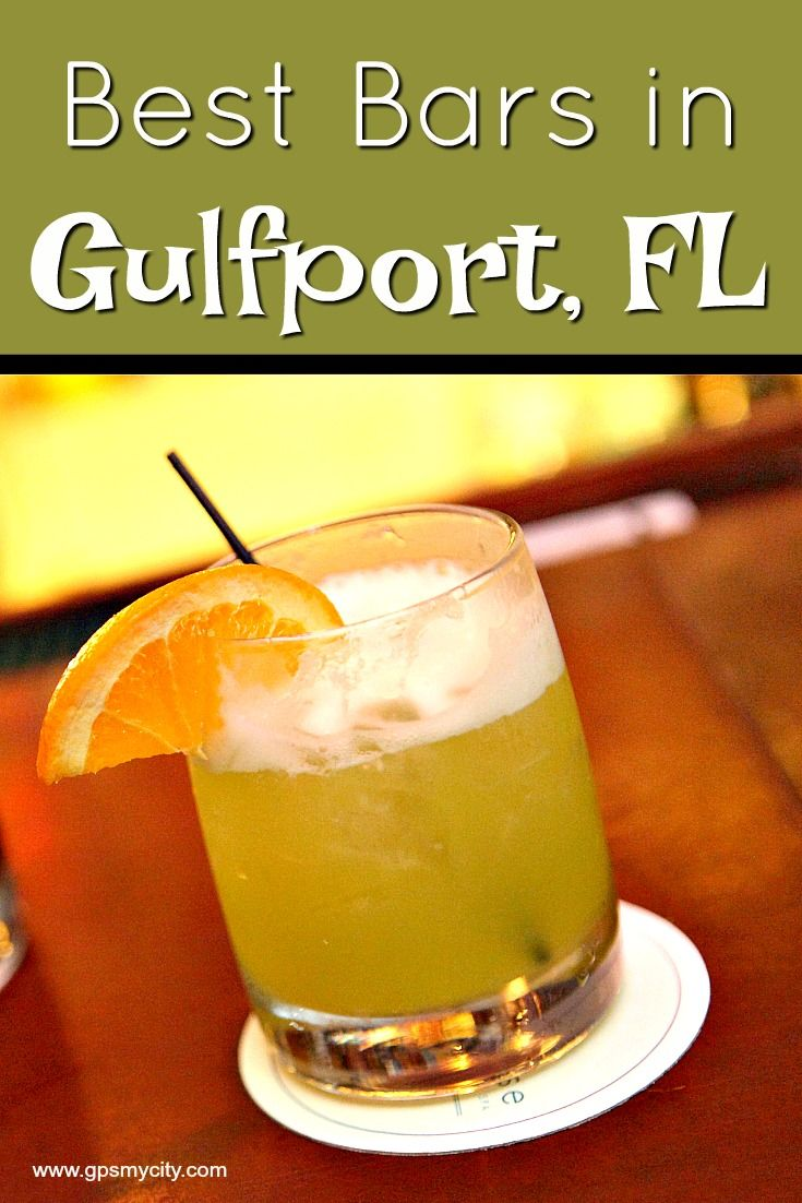 """Though Gulfport, FL is referred to as """"Mayberry with a liquor license,"""" this small community nestled between St. Petersburgh and Tampa has a happening bar scene. This quaint town offers everything from beer pong tournaments and karaoke to quiet cocktails on outside porches and patios."""