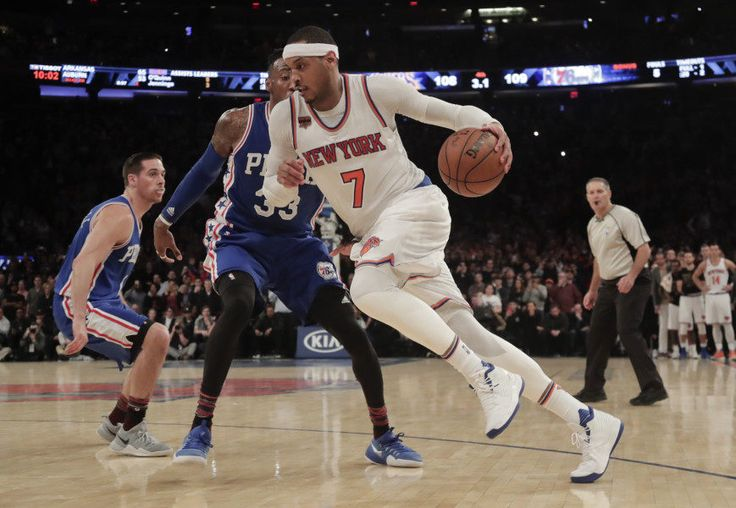 Carmelo Anthony on Knicks wanting to trade him | 'They might' = The New York Knicks officially closed out their disappointing 2016-2017 regular season on Wednesday evening. While going out on a high note with a 114-113 win over the Philadelphia 76ers, the once heralded franchise may have…..
