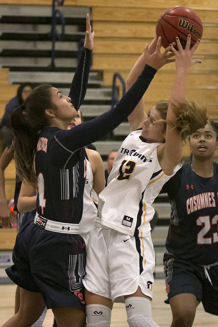 """EL DORADO HILLS — Oak Ridge varsity women's basketball team cruised through the first two rounds of the Trojan Toss Up Tournament only to hit a speed bump against Cosumnes Oaks, falling in the championship game 47-32 Saturday night at Oak Ridge High School. """"We hadn't played in ten days so to get...  #mountaindemocrat #Sports #A6, #Printed"""