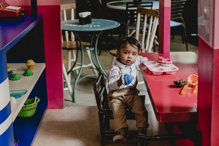 Carrinho de sorvete vintage. Fotografias do aniversário de 1 ano do Lucas! Festa super legal realizada no Buffet Museu Miniland com fotos do Rafael Mirra