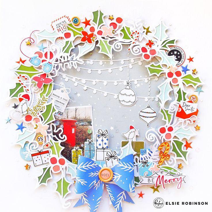 Feeling Festive with December Days | Elsie Robinson – Pinkfresh Studio | be merry