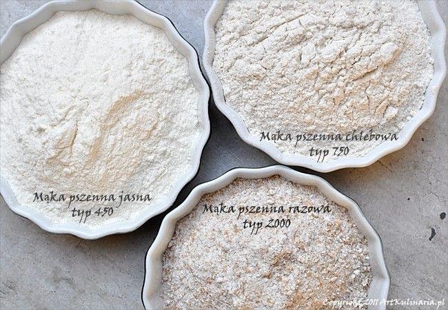 Mąka pszenna - typy i zastosowanie | ArtKulinaria