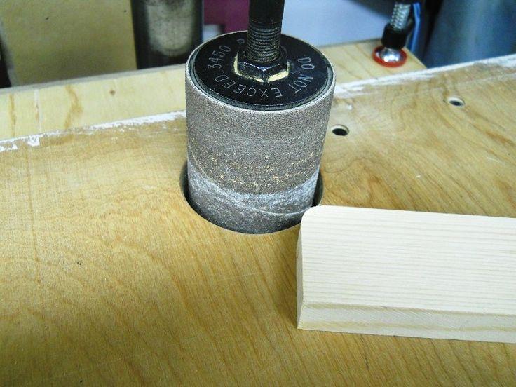 Drill Press Sanding Drum Vac Funnel / Aspirer la poussière de ponçage à la perceuse à colonne