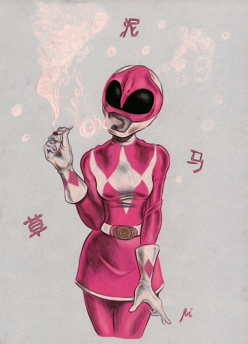 I've always liked the pink power ranger