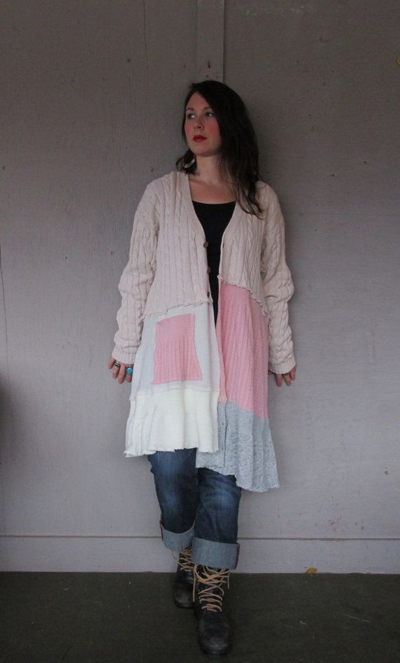 XLarge 1X Boho upcycled clothing / by lillienoradrygoods on Etsy