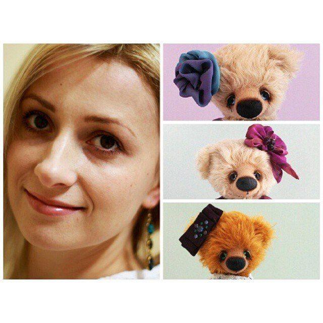 Моя дочь Катя и три медведя.