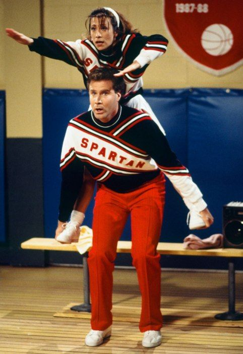 SNL Cheri Oteri Will Ferrell: the spartan cheerleaders!