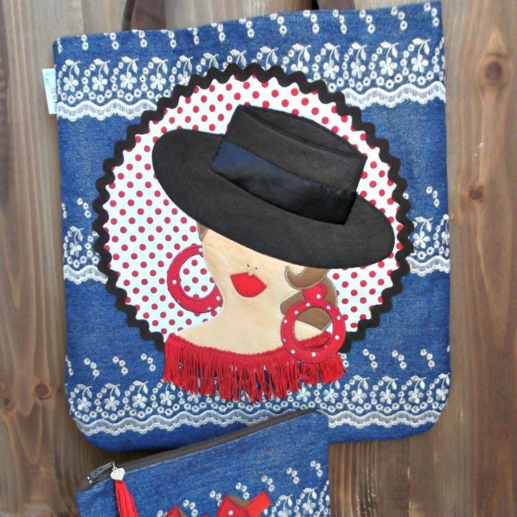 Regalos personalizados para el día de la madre: camiseta, bolso flamenco...y alguna cosa más.