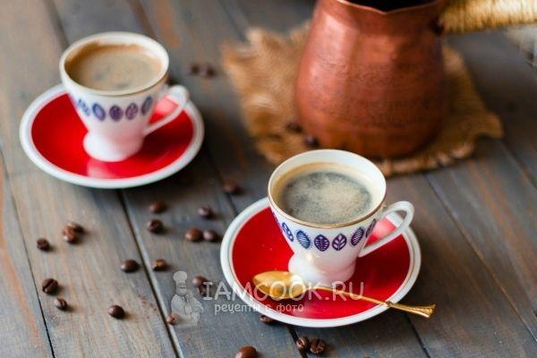 Фото кофе по-турецки в турке