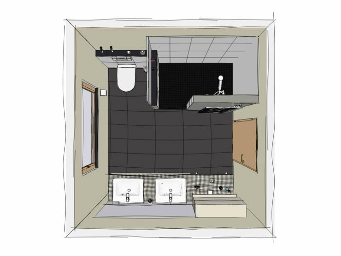 Bild1 Jpg 700 525 Badezimmer Quadratisch Badezimmer Badezimmer Grundriss