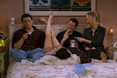 Immagine di friends, Joey, and chandler