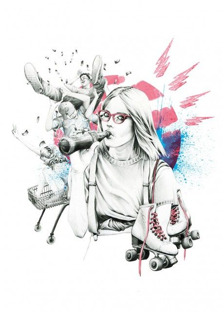 'Teenagekicks' by Ewelina Dymek