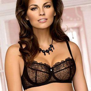 ea7566fb97 black lace bra with bow - Google Search