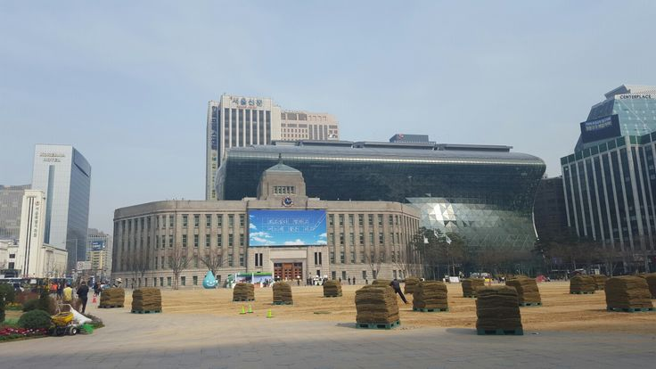 Seoul City Hall, Korea. The old and the new.