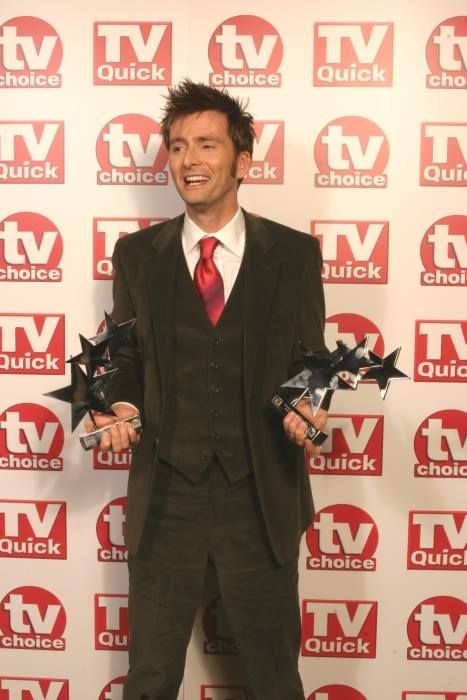 PHOTO OF THE DAY- 2nd January 2017:   David Tennant at the TV Quick Awards 2007