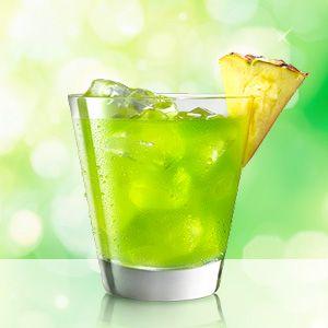 MIDORI Pineapple is an easy to make cocktail using MIDORI.
