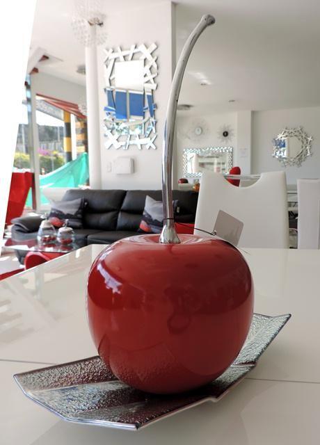 TIPSARTECO: Ponle toques mágicos a tus espacios con centros de mesa como frutas grandes y de hermosos colores!!!