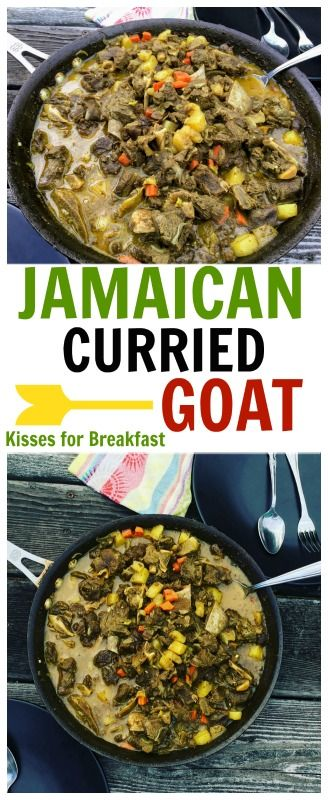 Jamaica is well known for its wonderful talents, beautiful landscape and most of all its mouthwatering dishes. Including Curry Goat. Jamaican Caribbean Cuisine.
