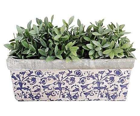 Grandes ideas a precios mini: Macetero Flora - rectangular