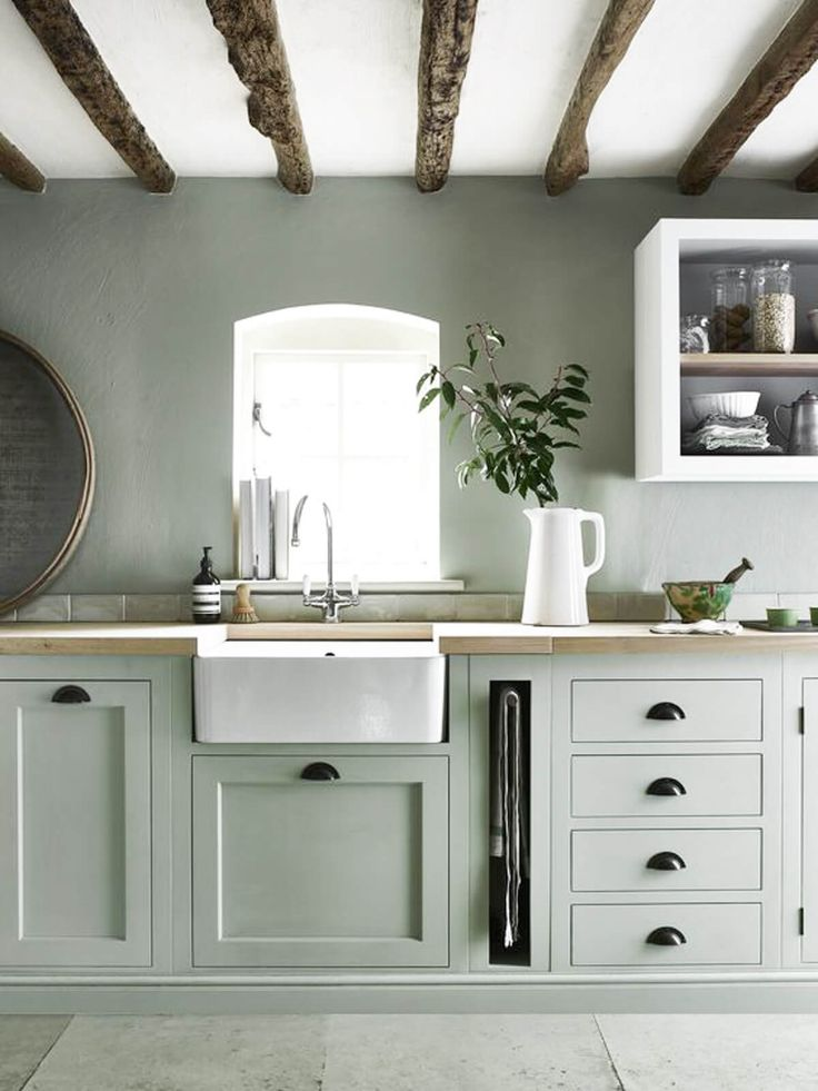 Best 25 sage green kitchen ideas only on pinterest sage for Diy luxury kitchens