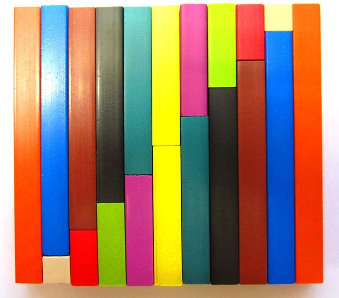 Colour factor rods from my school...something else I had completely forgotten about.