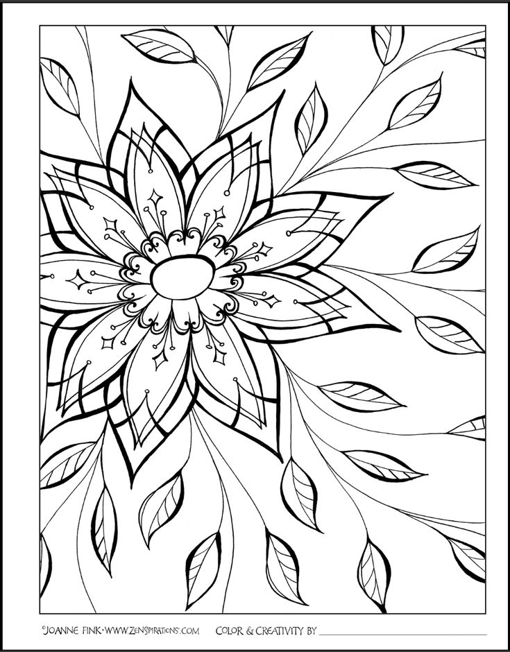 90 best Pages to Color images on Pinterest Coloring books - copy coloring pictures of flowers and trees