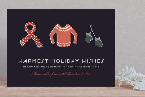 45 best holiday greeting cards nes images on pinterest business bundled tight business holiday cards by serenity avenue at minted reheart Images