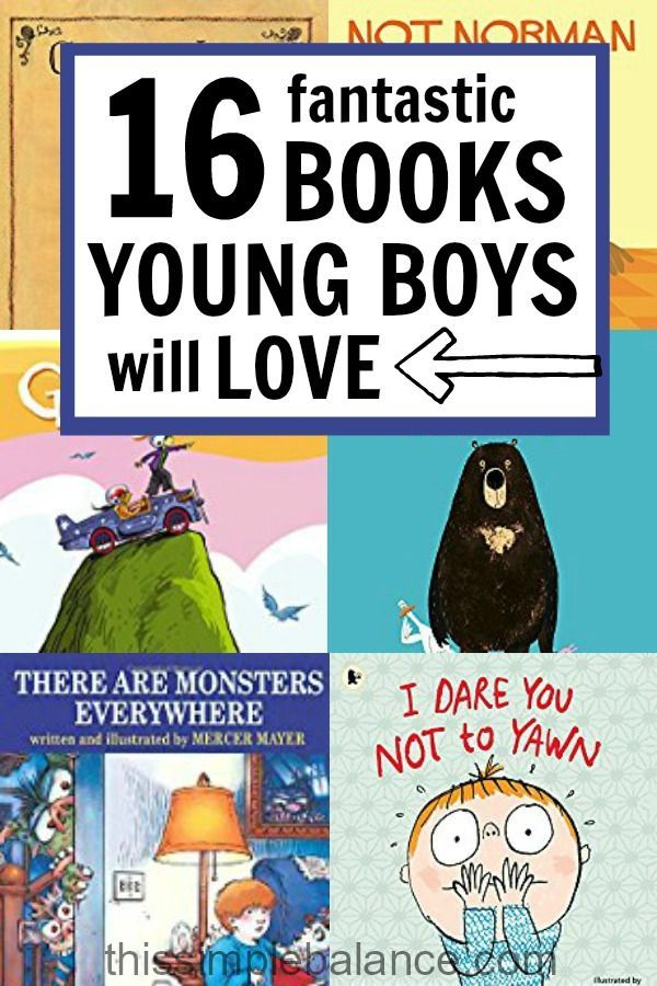 16 More Unexpectedly Awesome Books for Young Boys