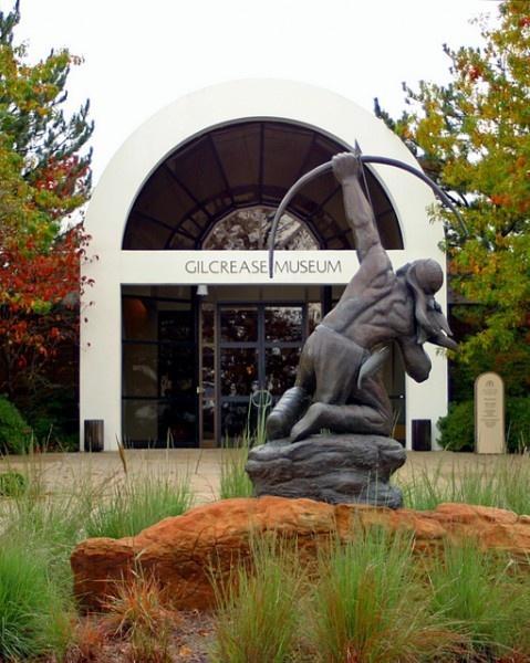 Gilcrease Museum (Native American Indian Art) at Tulsa ...