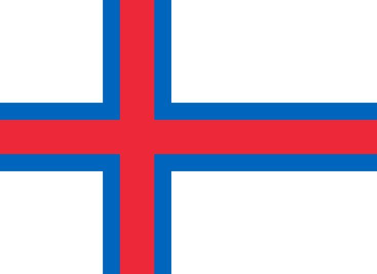 Merkið ble laget av tre færøyske studenter i København våren 1919: Jens Olivur Lisberg, Janus Øssursson og Pauli Dahl. Det ble bragt til Færøyene i juni samme år, og først heist i bygda Famjin 22. juni 1919.  I 1930 ble flagget tatt i bruk i en offisiell anledning, og fra 1931 kom flagget i vanlig bruk, men fremdeles uoffisielt.  Siden 1947 har 25. april vært nasjonal høytidsdag til minne om flagget.  Med Hjemmestyreloven av 23. mars 1948 ble flagget anerkjent som øyenes offisielle flagg.