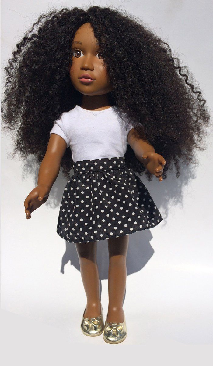 Pin for Later: A Doll With Afro Hair You Can Actually Twist Out and Curl