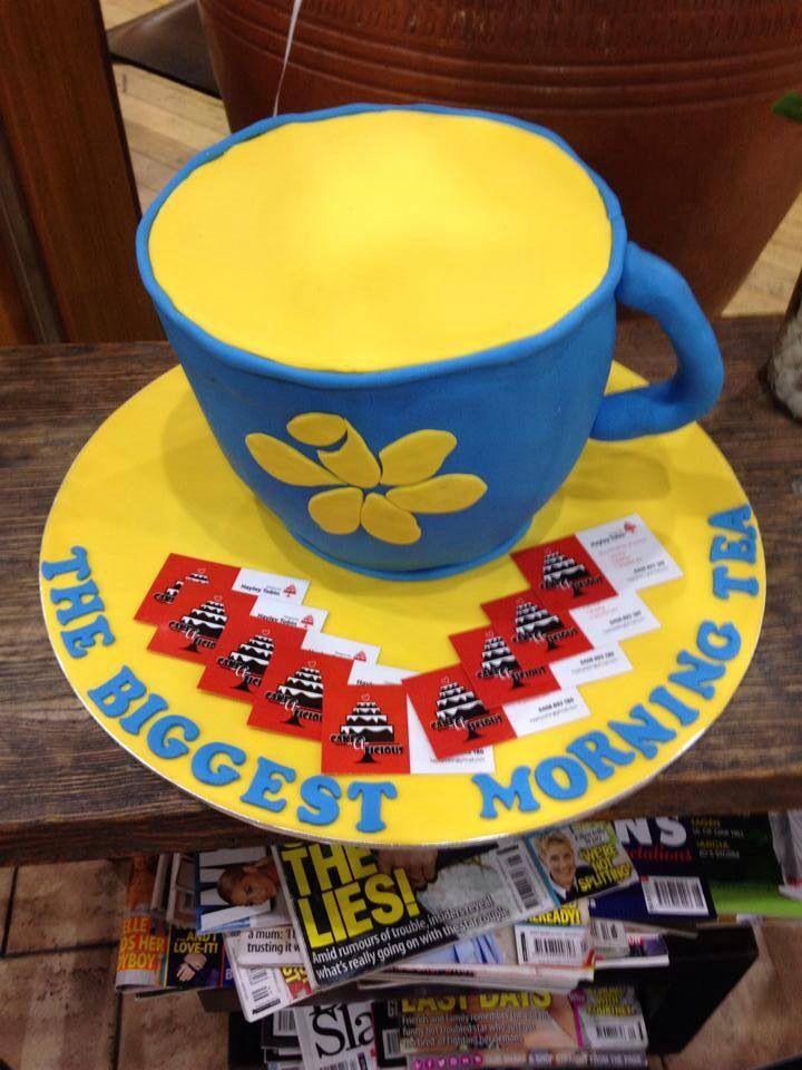 # Biggest Morning Tea cake