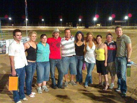 Speedway Australia McLeods Daughters cast....