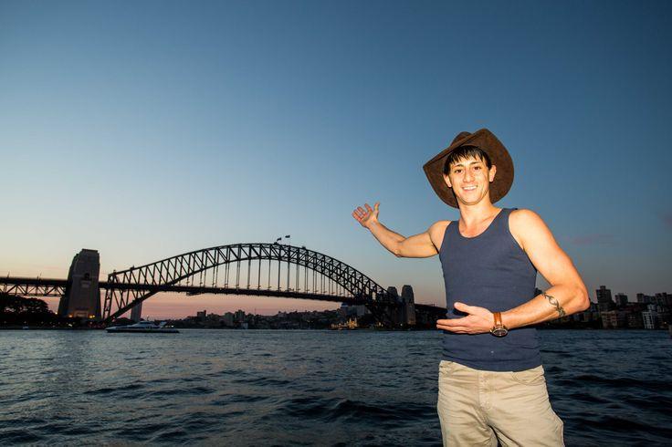 Outback Matty in Sydney - Jacaru Australia