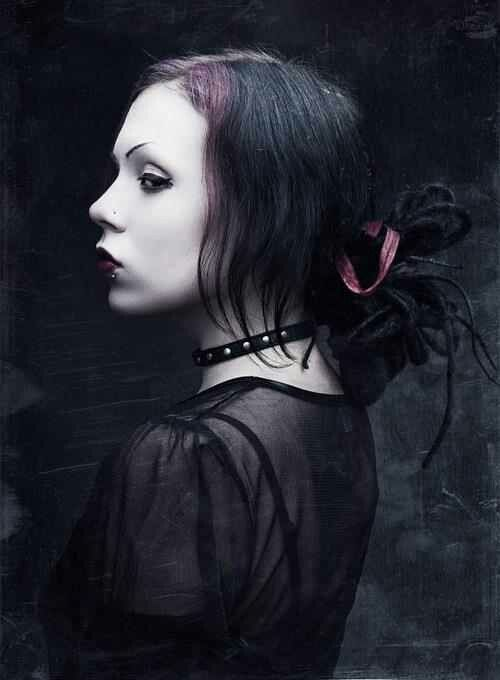 Easy #Goth girl look