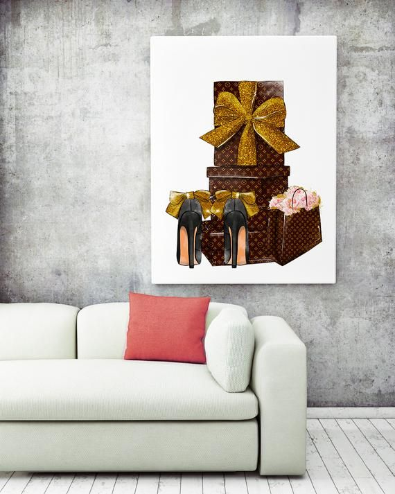 Stylish Wall Art Fashion Shoes Print Fashion Wall Art Fashion Etsy In 2020 Fashion Wall Art Stylish Wall Art Art Pricing
