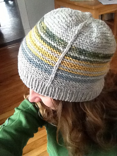 Ravelry: jessibean's springy wool stripes  Pattern: Ragtag Striped Tougue by Jessica Dekker