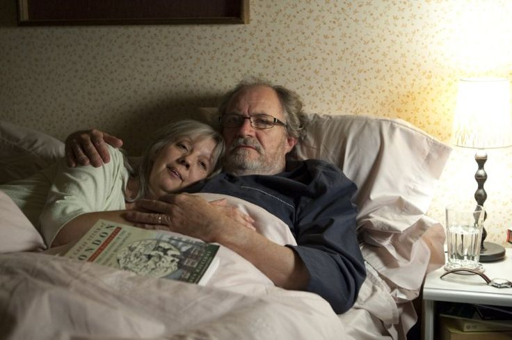 Jim Broadbent and Ruth Sheen in Another Year (2010)