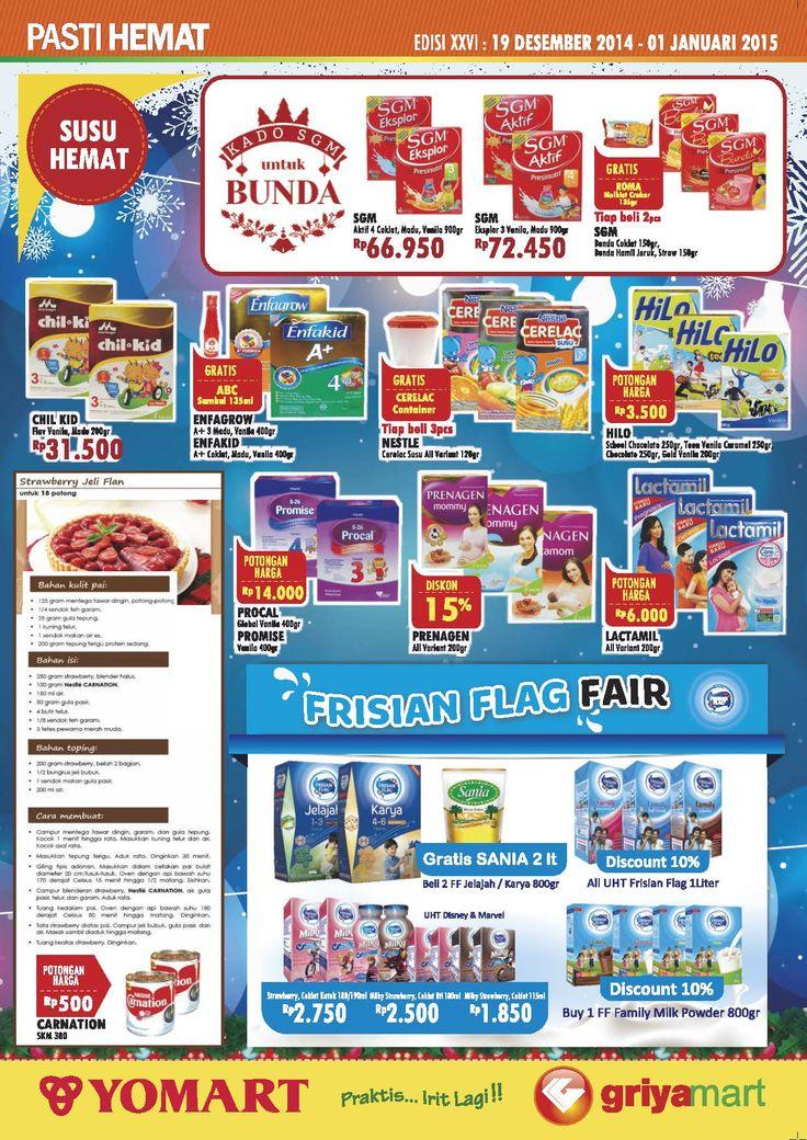 PROMO PAHE Edisi 26   Periode 19 Des '14 - 01 Jan '15 *Not : Promo tidak berlaku di YOMART JKT 48