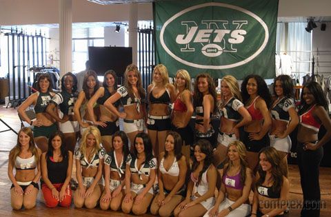 2011 New York Jet cheerleaders ;-)