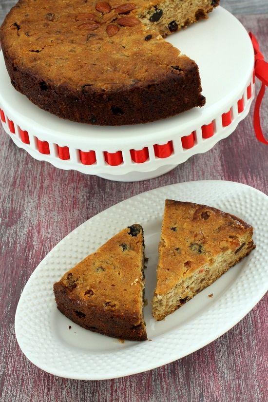 Chocolate dry fruit cake recipe