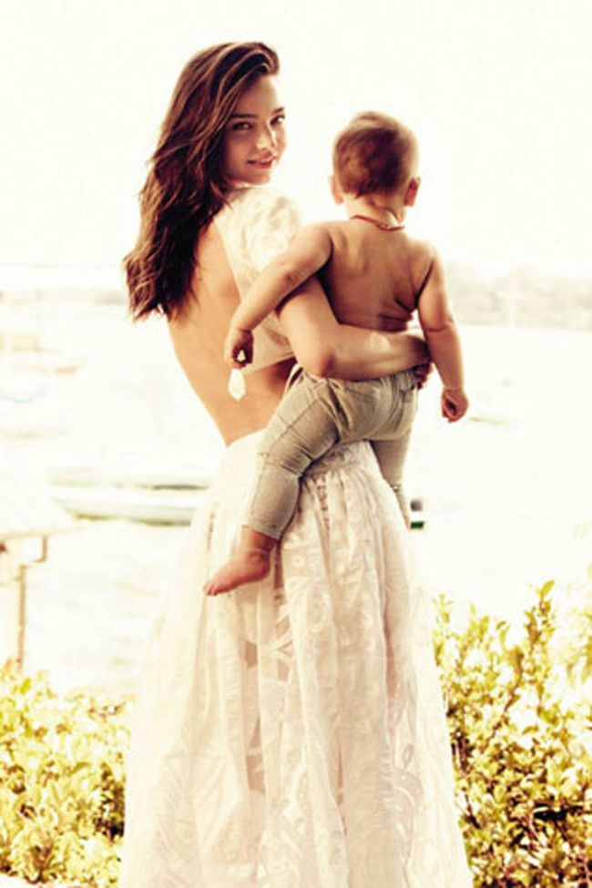 Vogue bambini: 16 mothers in fashion