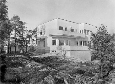 Funkisbloggen- Villa i Södra Ängby, Arkitekt Edvin Engström, uppförd 1938