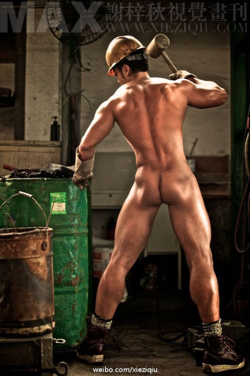 from Houston gay naked worker