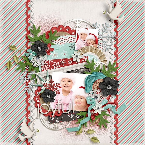 Jazzed by Zoliofropes http://www.oscraps.com/shop/home.php?cat=696  Winter Berry by Litabells and Flergs https://shop.scrapbookgraphics.com/Christmas-Collection.html