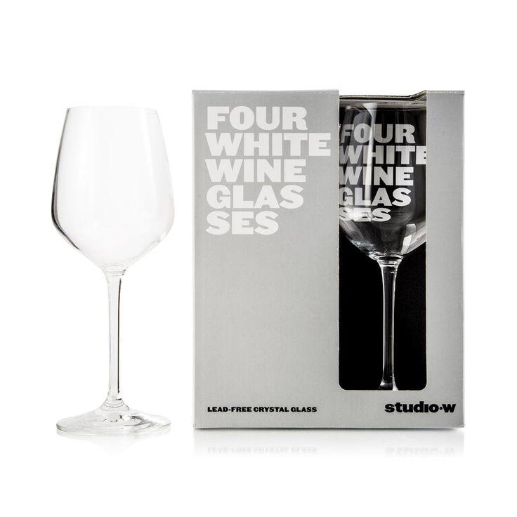 Lead-Free Crystal Wine Glasses