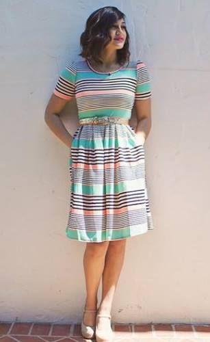 ISO-Love the colors. Lularoe Amelia dress.